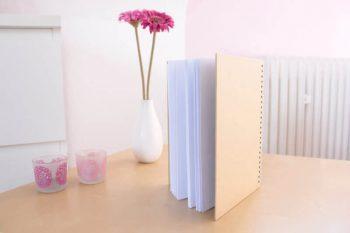 DIY Notizbuch für Hochzeitsplanung