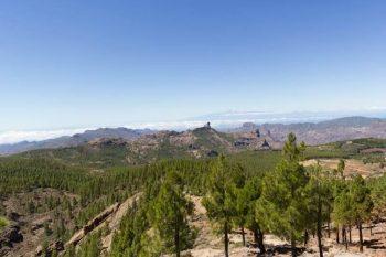 Gran Canarias Berglandschaft