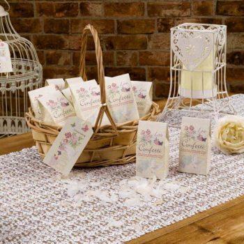 Confetti von Neviti für die Hochzeitsdekoration