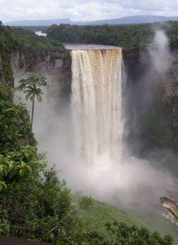Wasserfaelle in der Karibik