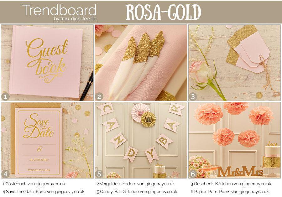 trendboard trau-dich-fee hochzeit accessoires rosa-gold